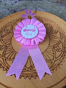 Odznaky/Brošne - brošňa na oslavu (Ružová) - 12260040_