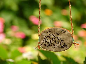 Náhrdelníky - náhrdelník: h o r y - 12264527_