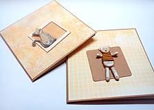 Papiernictvo - Pohľadnica ... macko v tričku - 12264291_