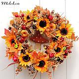 Dekorácie - Jesenný veniec s hríbikom - 12263653_