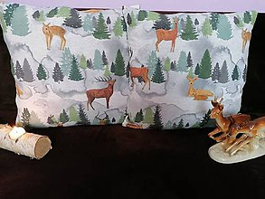 Úžitkový textil - Obliečky NA SAMOTE U LESA - 12262659_