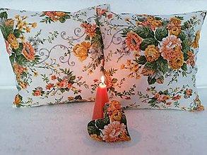 Úžitkový textil - Obliečky KYTICE ŽLTÉ - 12262961_