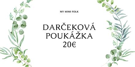 Darčekové poukážky - Darčeková poukážka - 12263343_