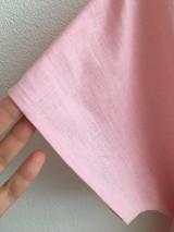 Šaty - Ľanové šaty s V- výstrihom - 12262533_