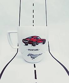 Nádoby - Hrnček auto - 12262432_