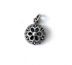 Iné šperky - Prívesok malý - moderný filigrán - 12264477_