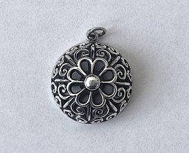 Sady šperkov - Prívesok veľký, filigrán - 12264588_