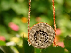 Náhrdelníky - náhrdelník: t v á r i č k a - 12265590_