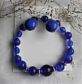 Sady šperkov - Modrá - 12265981_