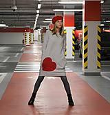 Detské oblečenie - Šaty/tunika Taloux Heart - 12265575_