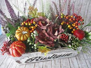 Dekorácie - Jesenná dekorácia - 12266085_