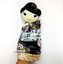 Hračky - Maňuška japonka v (NE)tradičnom kimone - 12267509_