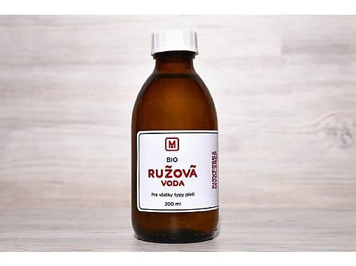 Bio ružová voda - balenie 200 ml + 50ml gratis