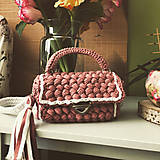 Kabelky - Ružová kabelka  - 12267448_