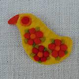 Odznaky/Brošne - ...plstená brošňa - vtáčik... - 12268095_
