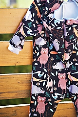 Detské oblečenie - Softshellový rozprávkový overal (80/82) - 12268005_