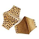 Rúška - Pánske, dámske rúško tvarované, 100 % bavlna - 12269316_