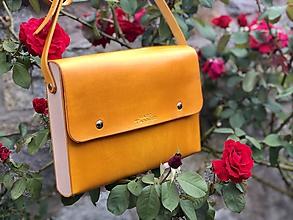 Veľké tašky - Dámska Messenger bag - Wooden Life No.88 - 12268528_