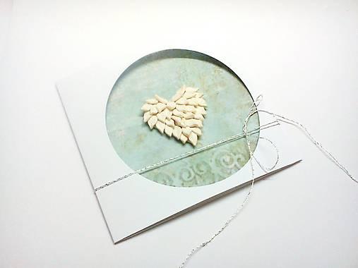 Pohľadnica ... srdce na dlani