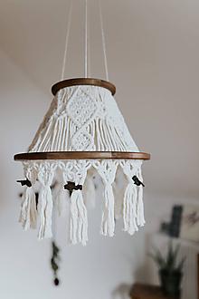 Svietidlá a sviečky - Včeličkový luster - Fčelka - 12271405_