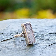 Prstene - Strieborný prsteň - Flash - 12272801_