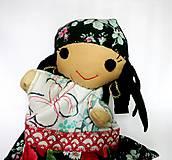 Hračky - Maňuška rómska dievčinka - 12273238_