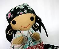 Hračky - Maňuška rómska dievčinka - 12273240_
