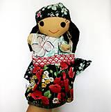 Hračky - Maňuška rómska dievčinka - 12273241_