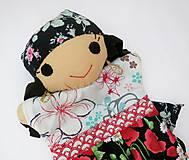 Hračky - Maňuška rómska dievčinka - 12273242_