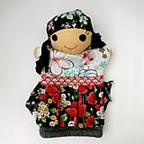 Hračky - Maňuška rómska dievčinka - 12273245_