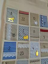 Dekorácie - Adventný kalendár no.2 - 12273026_