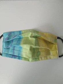 Rúška - Akcia - Výpredaj - Farebné bavlnené rúško na tvár - 12272616_