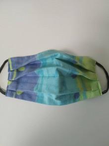 Rúška - Akcia - Výpredaj - Farebné bavlnené rúško na tvár - 12272664_