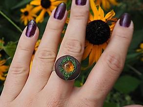 Prstene - Prsteň s citrínom - 12271645_
