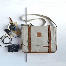 Veľké tašky - Taška Aspen (béžová - oriešková) - 12274144_