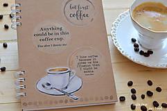 Papiernictvo - Receptárik -coffee I. - 12274091_