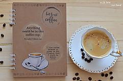 Papiernictvo - Receptárik -coffee I. - 12274093_