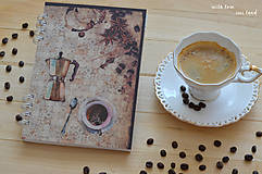 Papiernictvo - Receptárik - coffee IV. - 12274122_