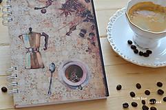 Papiernictvo - Receptárik - coffee IV. - 12274123_