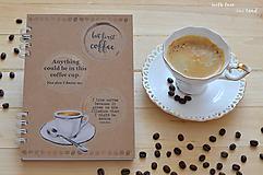 Papiernictvo - Receptárik -coffee I. - 12274127_