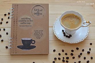 Papiernictvo - Receptárik - coffee II. - 12274113_