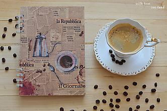 Papiernictvo - Receptárik - coffee III. - 12274116_
