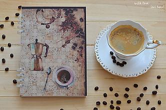 Papiernictvo - Receptárik - coffee IV. - 12274120_