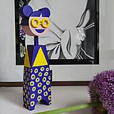Hračky - Drevená bábika Uma - 12276313_