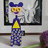 Hračky - Drevená bábika Uma - 12276314_