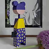 Hračky - Drevená bábika Uma - 12276315_