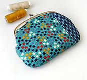 Peňaženky - Peňaženka XL Hviezdičky - 12275268_