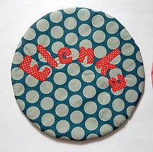 Úžitkový textil - Personalizovaný podsedák na stoličku (do školy,do izbičky) - Elenka - 12277174_