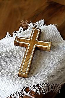 Dekorácie - Kríž dubový IV. - 12277572_