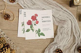 Papiernictvo - svadobne oznámenie 031/2 - 12279723_